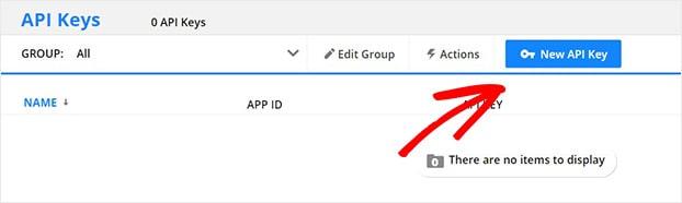 Click New Ontraport API Key