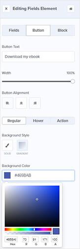 OptinMonster button edit tools
