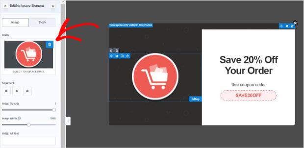 Edit Abandon Checkout template image