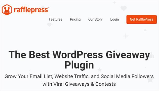 Rafflepress WordPress ecommerce plugin