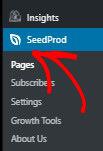 Choose SeedPRod in WordPress_