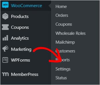 Click WooCommerce Settings_