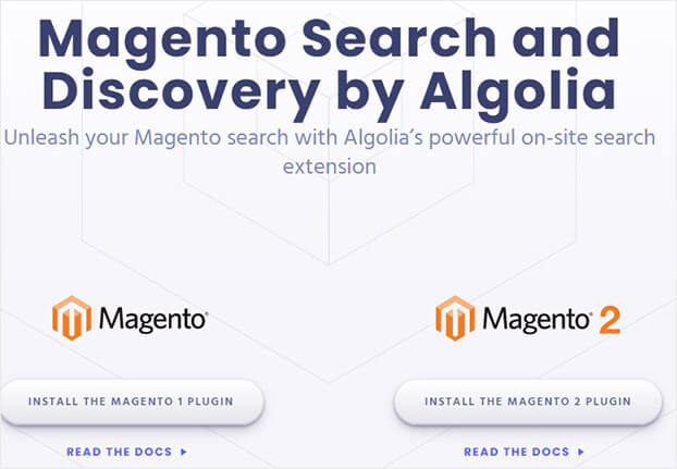 Magento Search and Discovery by Algolia