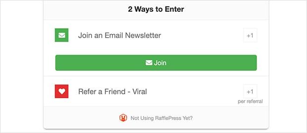 rafflepress-join-newsletter-action