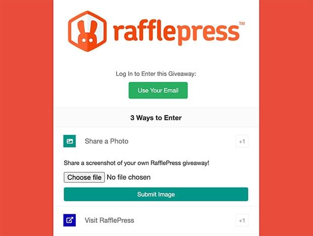 rafflepress-photo-contest